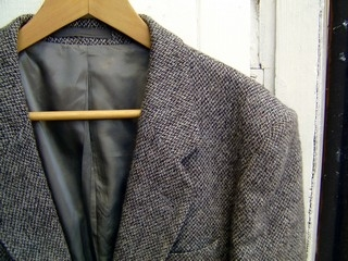 Grey Harris Tweed Jacket